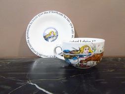 1 Alice In Wonderland Tea Party Cupand Saucer Set Paul Carde