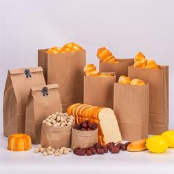 100pcs High Quality Kraft Paper Bags Food <font><b>Tea</b></