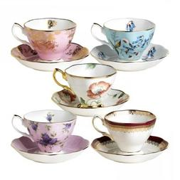 Royal Albert 101 Years Fine Bone China 1950-1990 - 10-Piece