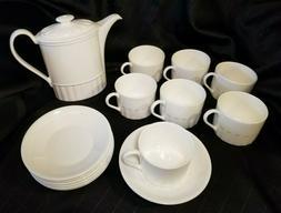 15 piece colloseum bicentenary bone china tea