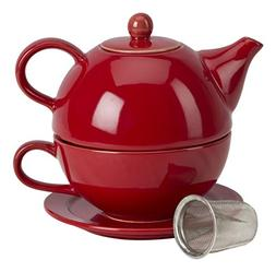 Omniware 1500125 5 Piece Tea For One Teapot Set with An Infu
