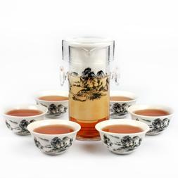 150ml Glass <font><b>Teapot</b></font> with Filter Interaura