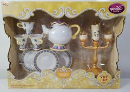 1991 Disney Store Beauty and The Beast Deluxe Singing Tea Pa