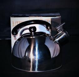2 L Stainless Steel Teapot Coffee Pot with Plastic handle