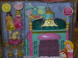 2011 DISNEY PRINCESS AURORA & BELLE ROYAL TEA PARTY PLAY SET