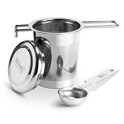 Sweese 2201 Tea Infuser Strainer With Lid + Spoon for loose