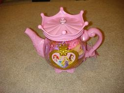 25-PC DISNEY PRINCESS TEA PARTY SET PLASTIC TEA POT, CUPS, &