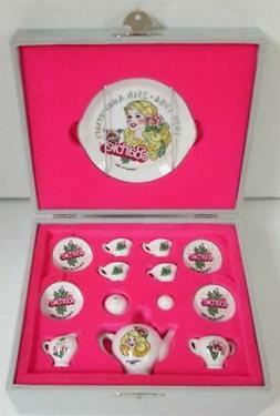 25th Anniversary Edition Miniature Barbie Porcelain Tea Set