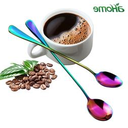 2Pcs/<font><b>set</b></font> <font><b>Tea</b></font> Spoons