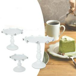 3 Set Metal Cake Holder Cupcake Dessert Display Tower Aftern