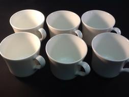 4 Mikasa Bone Y3001 Madison White Tea Coffee Cup Set 9 Oz Fo