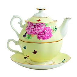 Royal Albert 40025888 Miranda Kerr Joy Tea for One, 3 Piece