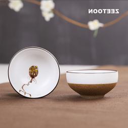 4PCS/Lot <font><b>Japanese</b></font> Coarse Pottery Handpai