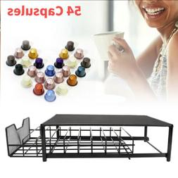 54K Cup Holder Coffee Capsule Pod Storage Drawer Dispenser S
