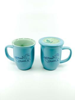 Abbey Gift 57829 Amazing Woman Blue Mug and Coaster Set