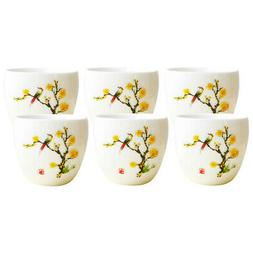 6 Pcs/Set Ceramic Coffee Mugs Tea Cup Wonderful Gift for Gir