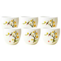 6 Pcs/Set Ceramic Coffee Mugs Tea Cup Wonderful Gift for Gir