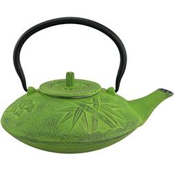 Creative Home Kyusu Cast Iron Cast Iron Tea Pot with Infuser