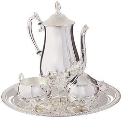 Elegance Silver 8917 Hotel Collection Coffee Service Set, 4