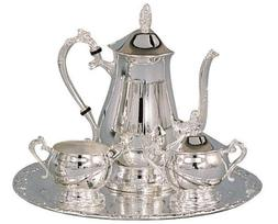 Elegance Silver 89801 Romantica Collection Silver Plated Cof