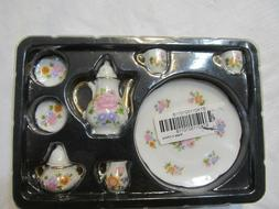 8pcs 1/6 Dollhouse Miniature Dining Ware Porcelain Dish/cup/