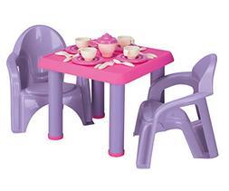 American Plastic Toys 28-Piece Tea Party Set