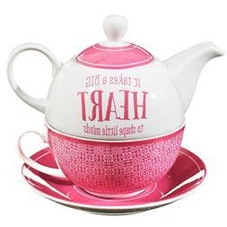 Blessings to the Teacher Tea-for-One Set - 1 Corinthians 16: