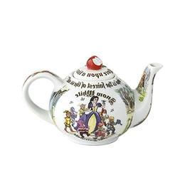 Cardew Design Snow White 2 Cup Teapot with Red Apple Lid, 18