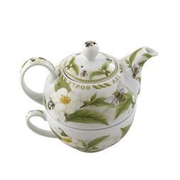Cardew Design Tea and Honey Tea Set for One with 16-Ounce Po