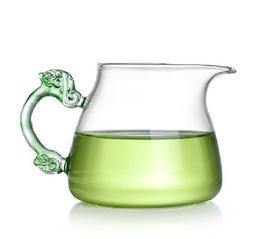 Chinese Handmade Glass Tea Pitcher Cha Hai Tea Cup 450ml Col