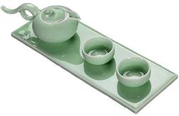 Chinese Jingdezhen Blue & White Porcelain Kungfu Tea Set  TS