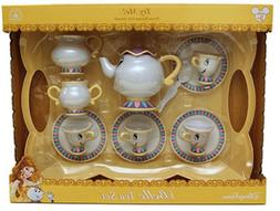 Disney Parks Belle Tea Set Dishes Mrs Potts Chip Beauty and