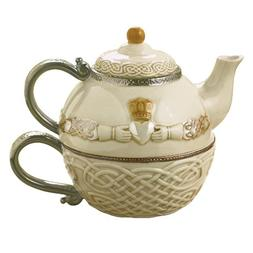 Grasslands Road Celtic 16-Ounce Claddagh Stacking Tea For On