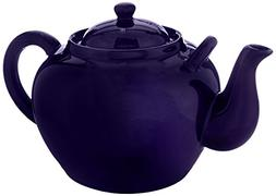HIC Harold Import Co. HIC 75-Ounce Capacity Teapot, Cobalt