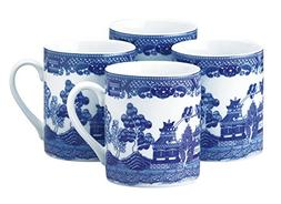 HIC Harold Import Co. YK-315 HIC Blue Willow Coffee Tea Set,