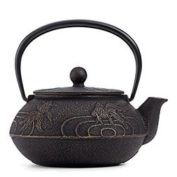 Japanese Goldfish Cast Iron Teapot by Teavana
