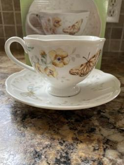 Lenox - Butterfly Meadow - Cup & Saucer Fritillary