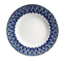 Lomonosov Porcelain Cake Dessert Plate Forget Me Not 7 inche