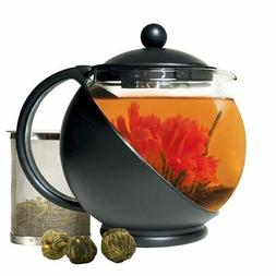 Primula Half-Moon Teapot for Flowering Tea Set – Wide Mout