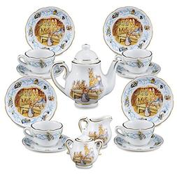 Reutter Porcelain - Medium Tea Set in Case - Beatrix Potter
