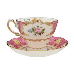 Royal Albert Lady Carlyle Teacup & Saucer Boxed 6.85-ounces