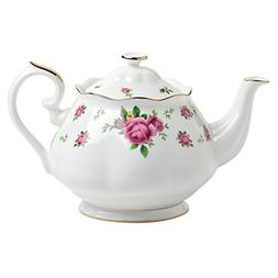 Royal Albert New Country Roses Formal Vintage Teapot