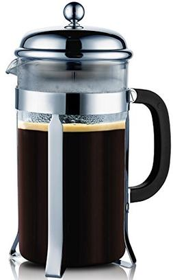 Coffee Maker French Press by SterlingPro  Gift 2 Free Bonus