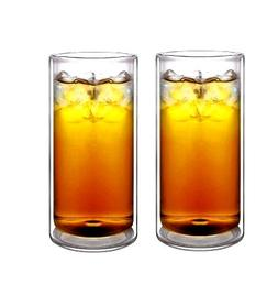 Sun's Tea 16oz Ultra Clear Strong Double Wall Insulated Ther