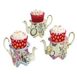 Talking Tables TSALICE-TEAPOTS Truly Alice Teapot Cupcake St