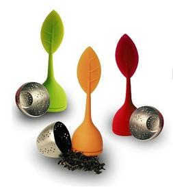 Tea Infuser Set of 3, Steeper Strainer Silicone and Stainles