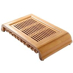 Tea Talent Reservoir Type Bamboo Tea Tray - Japanese / Chine