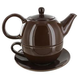 Tea for One Brown Gloss Finish - English Tea Store Brand