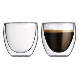 Teaology Coppia Double Wall Borosilicate Glass Tea & Coffee