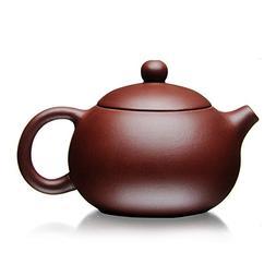 XDOBO Chinese Purple Clay Teapot, Full Handmade Teapot, Undr